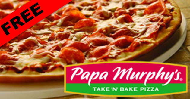 Free Large Pizza From Papa Murphy S
